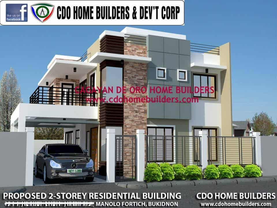 CDO HOME BUILDERS' PROPOSED HOUSE CONSTRUCTION PACKAGE