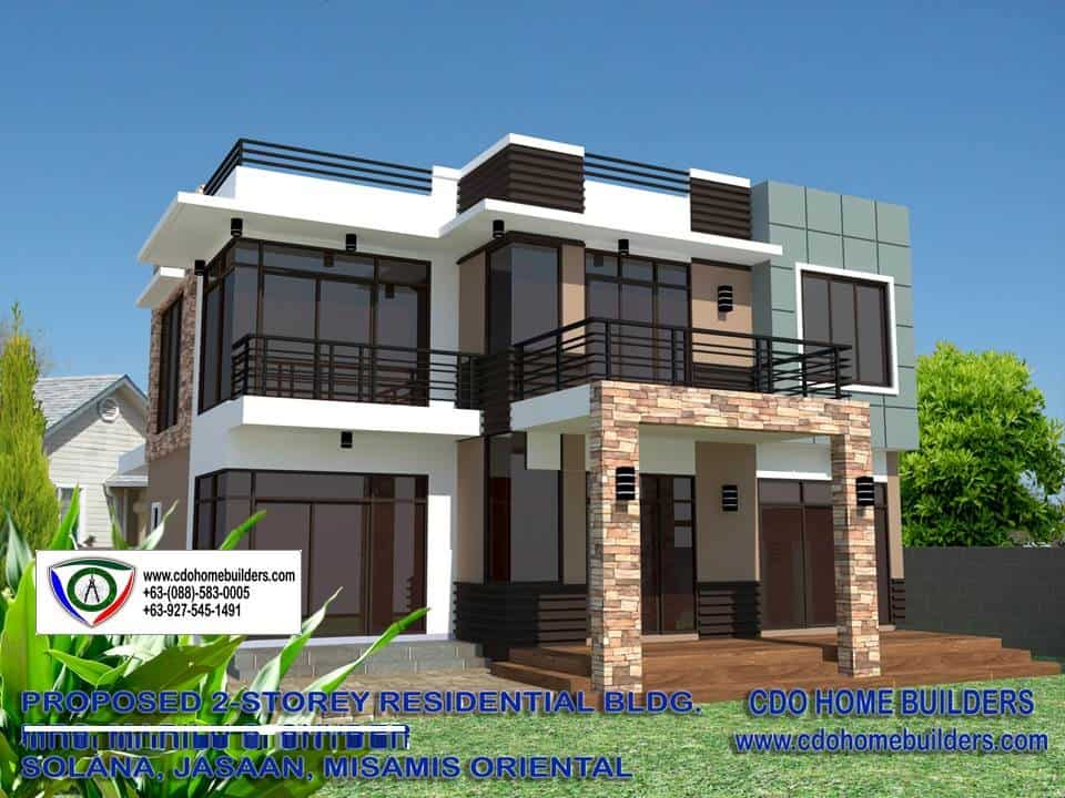 Zen type house with swimming pool to rise cdo home builders for Www homebuilders com